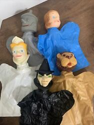 Vintage Wizard of Oz Proctor amp; Gamble Hand Puppets Lot of 5 1960s. $25.00