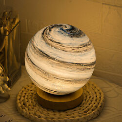 Moon Lamp Night Light LED 3D Lunar Surface Dimmable Desk Lamps Christmas Gift $22.89