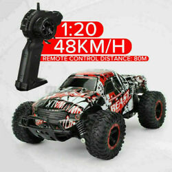 1:20 2.4GHz Remote Control Car High Speed RC Electric Monster Truck Off Road Car $28.98