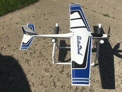 """rc airplane """"used""""electric. """" ELECTROSTREAK """" in good shape Just add receiver $69.00"""