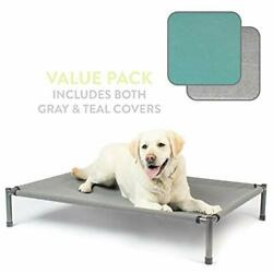 Hyper Pet Raised Rest Deluxe Elevated Dog Bed Outdoor Dog Bed Great Raised Do... $155.14