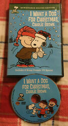 I WANT A DOG FOR CHRISTMAS CHARLIE BROWN Happy New Year DVD Very Good Cond C $8.99
