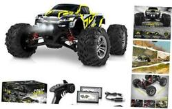 1:16 Scale Large RC Cars 36 kmh Speed Boys Remote Control Car Black Yellow $133.74