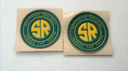 Vintage Two Southern Railway Self Adhesive Emblems Excellent Condition $16.25