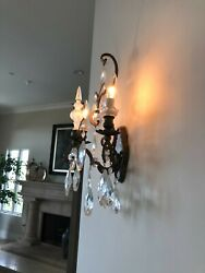 Schonbek Wall Sconces Immaculate MSRP over $2650 $599.40