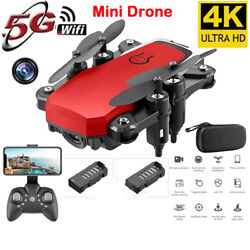 2021 New RC Drone UAV 4K HD with Camera Quadcopter Mini Drone WIFI Foldable Toy $46.70
