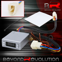 Universal Turbo Timer Red Led Psi Reader Na Turbo Silver Programmable Controller $20.99