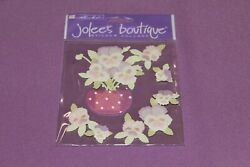 Jolee#x27;s Boutique Sealed Package of Pansies Flowers Stickers $2.09