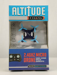 Altitude by Propel 2.4GHZ Micro Drone Indoor Outdoor Wireless Quadrocopter $16.99
