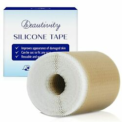 """Scar Removal Silicone Tape for Hypertrophic Scars and Keloids1 Roll1.6"""" x 60#x27;#x27; $15.24"""