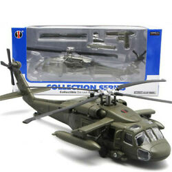 29CM Hawk Military Army Fighter Aircraft Toy Helicopter Collection $33.29