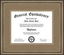 Customized Replacement Novelty High School GED Diploma PDF sent same day $14.00