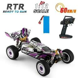 Wltoys 124019 RC Racing Car 60km h 1 12 2.4GHz Off Road Drift RTR 4WD Toy $101.27