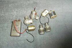 Lot of Vintage Small Motors Push Button Switches and a Tobe Capacitor $10.00