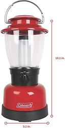 CAMPING LAMP 400 Lumens Outdoor Hiking LED Lantern Coleman W 4D Battery NEW $24.39