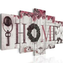 5Pcs Fashion Concise Wall Paintings Home Letter Prints Photo Paintings Wall Art $11.39