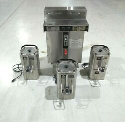 Fetco CBS 52H15 1.5 Gallon Twin Commercial Coffee Brewer 120 208 240VAC 3 Phase $599.99