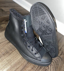 Converse Chuck Taylor All Star Winter High Top Gore Tex Black Size 9 165935C NEW $91.48
