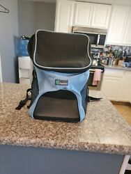 """PetAmi Pet Carrier Backpack for Small Cats and Dogs Charcoal Ventilated 12""""x16"""" $20.90"""