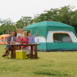 Large Outdoor Camping Tent 10 Person Cabin Screen Porch Waterproof Outdoor Tent