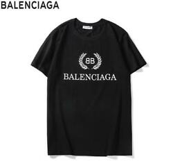 NEW BLACK Balenciaga² tee shirt with BB Words lettering All Size Available $89.98