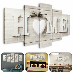 5Pcs Unframed Modern Wall Art Painting Print Canvas Picture Home Room Decor Gift $11.49