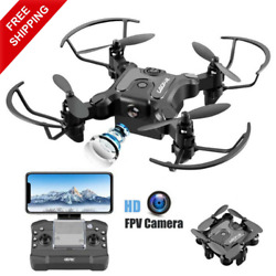 4DRC V2 Foldable Drone with Camera for Adults 720P HD FPV Live Video Rc $35.22