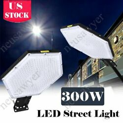 27000LM LED Street Light Commercial Outdoor IP67 Area Security Road Lamp NEW