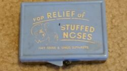 JOKE NOVELTY FOR RELIEF OF STUFFY NOSES BOX WITH FAKE FINGERTIP TO PICK NOSE $15.00