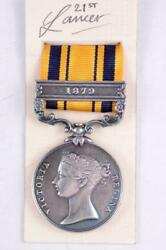 SOUTH AFRICA SERVICE MEDAL ANGLO ZULU WARS 1879 BRITISH MILITARY AWARDS $25.30