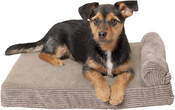 Furhaven Orthopedic Cooling Gel and Memory Foam Pet Beds for Small Medium an $25.99