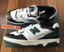 NEW New Balance 550 Mens Size 10.5 Green White Sail Aime Leon BB550LE1 Leather $139.00