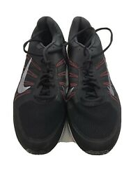Nike Dart XII 12 Mens Black Red Athletic Running Shoes Size 12 $45.99