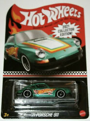 New Hot Wheels #x27;71 Porsche 911 Target Mail In 2021 Collectors Edition With Case $36.00