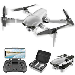 2021 NEW F3 Foldable Drone GPS with 4K HD Camera for Adults FPV Live Video Rc $116.65
