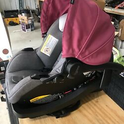 Evenflo Pivot Modular Travel System with Safemax Infant Car Seat Dusty Rose $200.00
