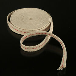 1 2 15Ft 4.5m Flat Cotton Oil Lamp Wicks Roll White For Oil Lamps and Lanterns $8.99