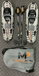 Yukon Charlies MP Mountain Profile Snowshoes with Bag amp; Poles Snow S GAL115961 $79.99