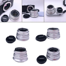 Prime Fixed Lens Portable F 1.8 with Front Lens Cover for Micro Cameras $40.53
