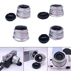 Prime Fixed Lens 25mm F1.8 Lightweight Wide Angle Lens for Micro Cameras $44.54