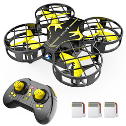 SNAPTAIN H823H Kid LED Mini RC Drone 3D Filps Altitude Hold Quadcopter Aircraft $28.19