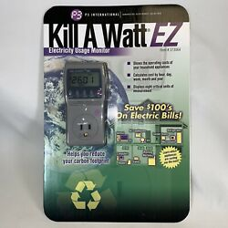 New P3 Kill A Watt P4460 Electricity Usage Monitor $ Save On Your Elctric Bills $23.99