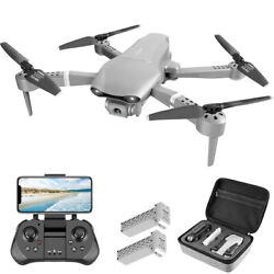 4DRC NEW Drones GPS FPV 4K HD Dual Camera Foldable Brushless Quadcopter $129.60