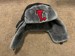 Lansing Lugnuts Black Alpine Russian Winter Hat Auto Owners Promo $49.95