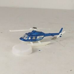 Corgi Juniors Surf Rescue Diecast Plastic Toy Helicopter made in great Britain $14.99