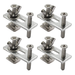 Genmitsu 4PCS T Track Mini Hold Down Clamp Kit Compatible with 3018 PRO 3018 MX $15.35