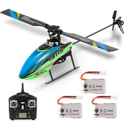 WLtoys V911S 4CH 6G Non Aileron RC Helicopter For Kids Toys W 3 Batteries O3O9 $58.58