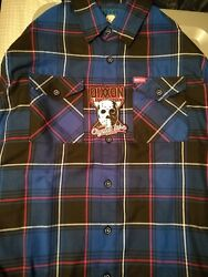 Dixxon Flannel CCL Camp Crystal Men#x27;s Large With Sticker Tag $129.00