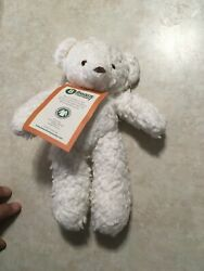 Bears for Humanity 10 Inch Sherpa White Bear Plush Toy NEW with Tag amp; SEALED $11.99