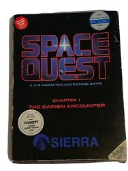 """RARE FIRST EDITION Space Quest Chapter 1 Sarien Encounter PC 5.25quot; amp; 3.5"""" $799.00"""